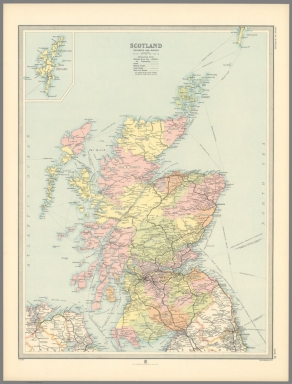 Plate 15. Scotland Railways and Routes.