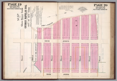 Page 19-20: Map of the Glass House Farm: See pages 21-22. Registered number 68