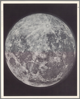 1 (Photograph of the moon).