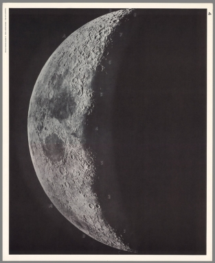 4 (Photograph of the moon).