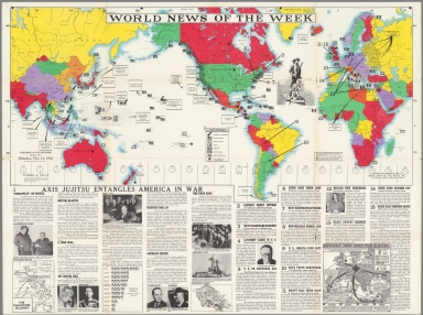 World News of the Week : Monday, Dec. 15, 1941.