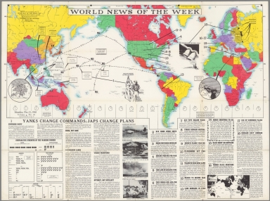 World News of the Week : Monday, Dec. 22, 1941.