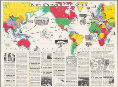 World News of the Week : Monday, Jan. 12, 1942.