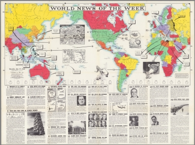 World News of the Week : Monday, Jan. 19, 1942.