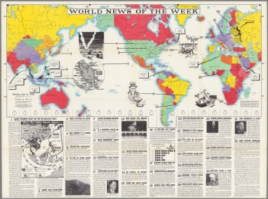 World News of the Week : Monday, Jan. 26, 1942.