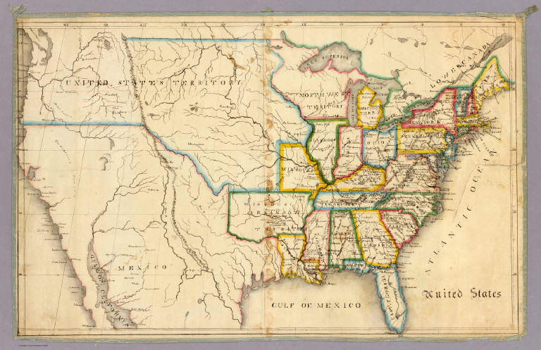 United States David Rumsey Historical Map Collection