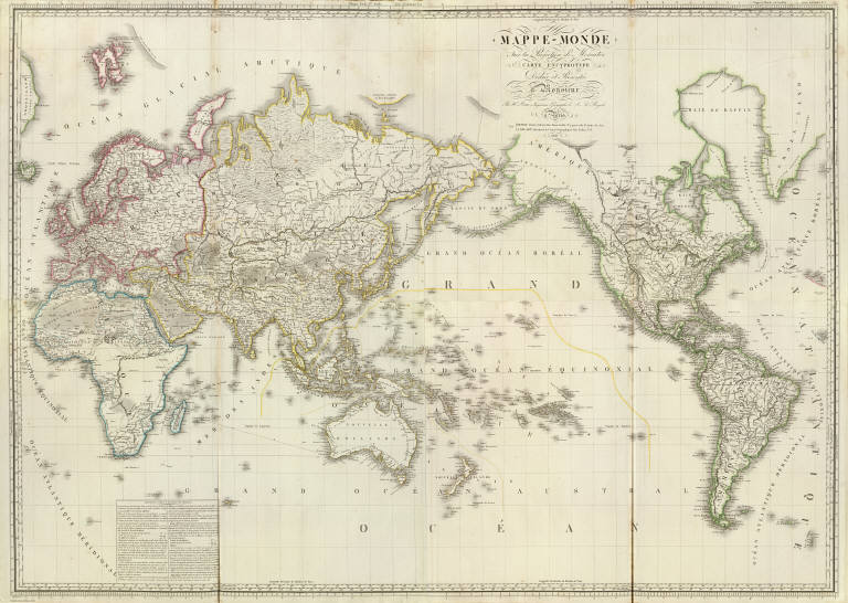 Browse All Images Of World David Rumsey Historical Map Collection - 1800s world map