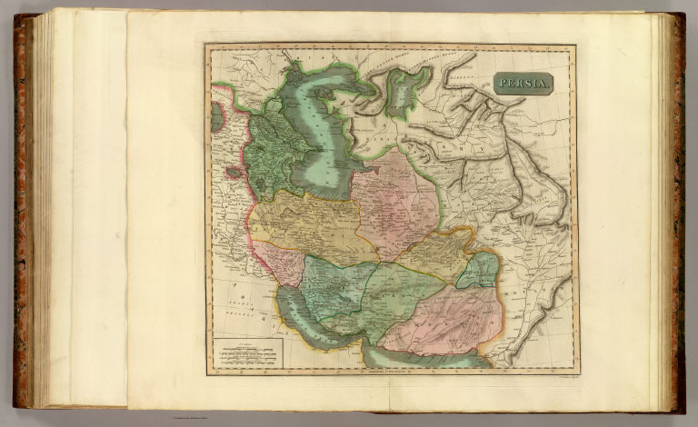 Persia David Rumsey Historical Map Collection