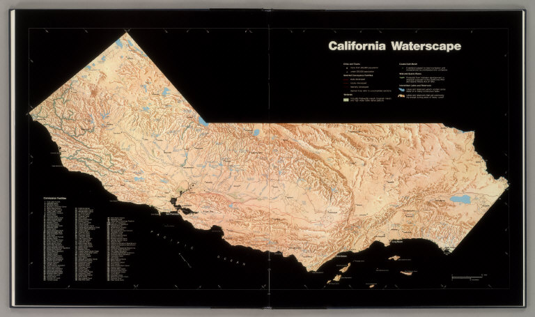 ... Selected Water Conveyance Features, Coastal Salt Marsh, Wild And Scenic  Rivers, And Intermittent Lakes And Reservoirs. Has A Table Of Conveyance ...