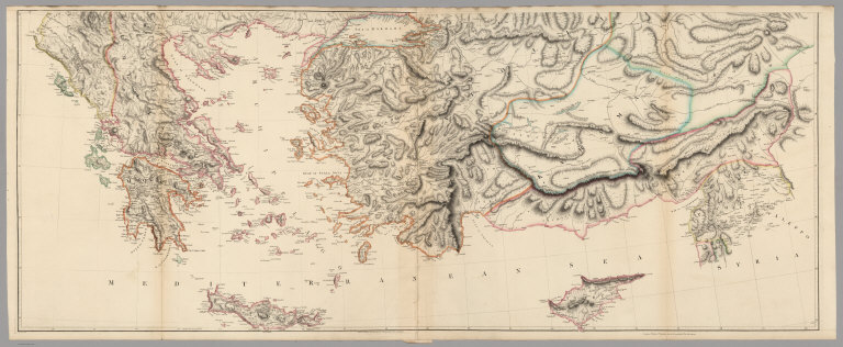 Lower Sheet: A Map of the Environs of Constantinople.