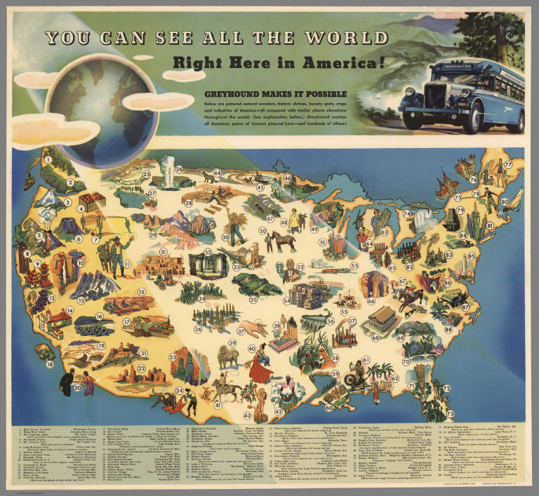 You can see all the world right here in the america greyhound makes you can see all the world right here in the america greyhound makes it possible david rumsey historical map collection gumiabroncs Images