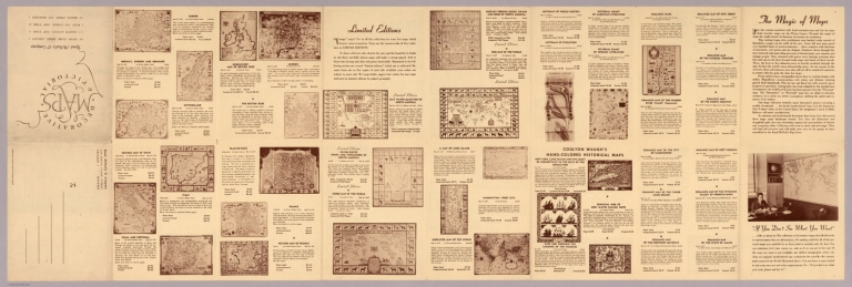 Text Page: The magic of maps