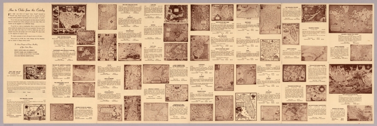 Text Page: Decorative and pictorial maps : Rand McNally & Company