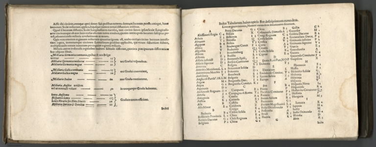Index Page: Index Tabularum