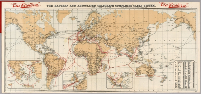 Via Eastern : the Eastern and Associated Telegraph Companies' cable system