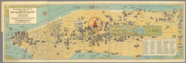 New York : a new pictorial map