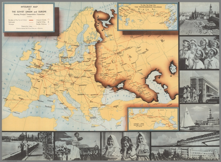Browse All : Pictorial map - David Rumsey Historical Map