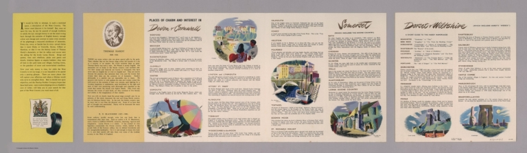 Text Page: A Dunlop map of the West Country LE 50/32