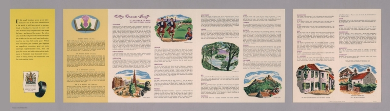 Text Page: A Dunlop map of Central Scotland. LE 50/36