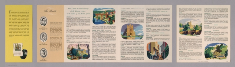 Text Page: A Dunlop map of the North Country. LE 50/38