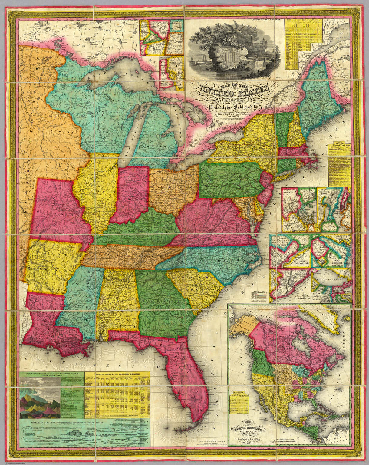 Map Of The United States David Rumsey Historical Map Collection - Map of the states of the united states