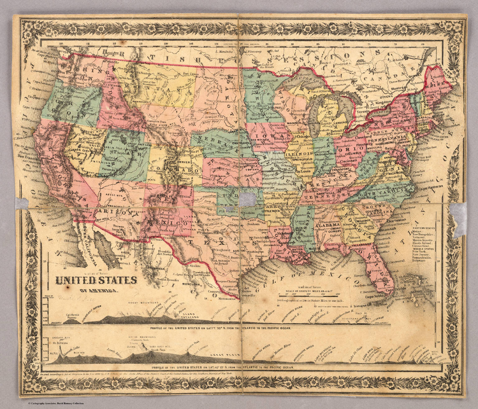 Index Map United States Of America