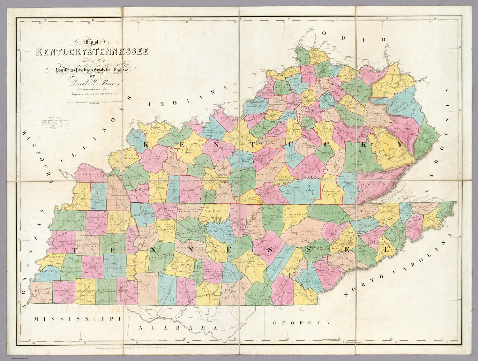 29 Model Map Of Kentucky Cities Afputracom Old State Map Kentucky