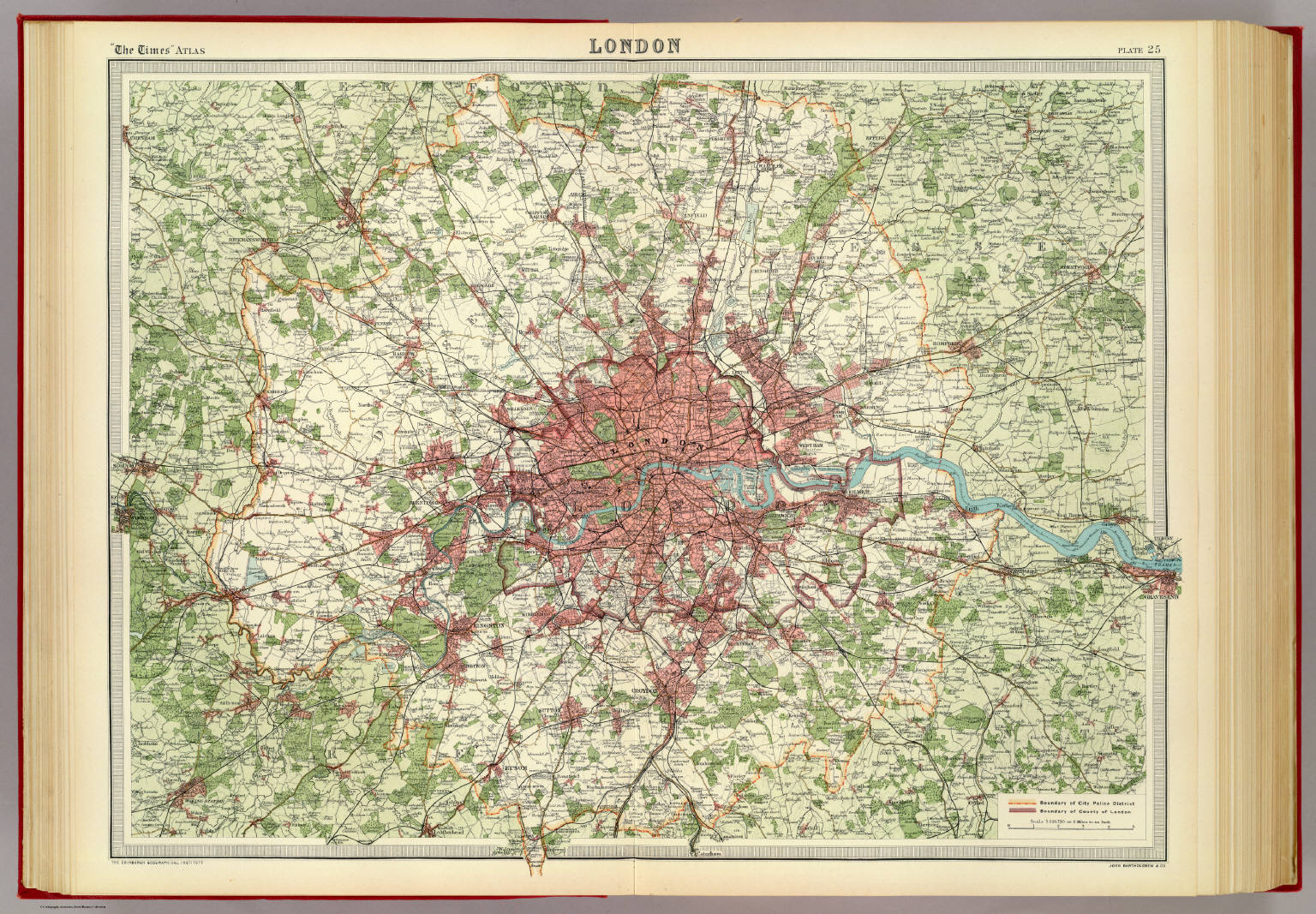 London David Rumsey Historical Map Collection - London map historical