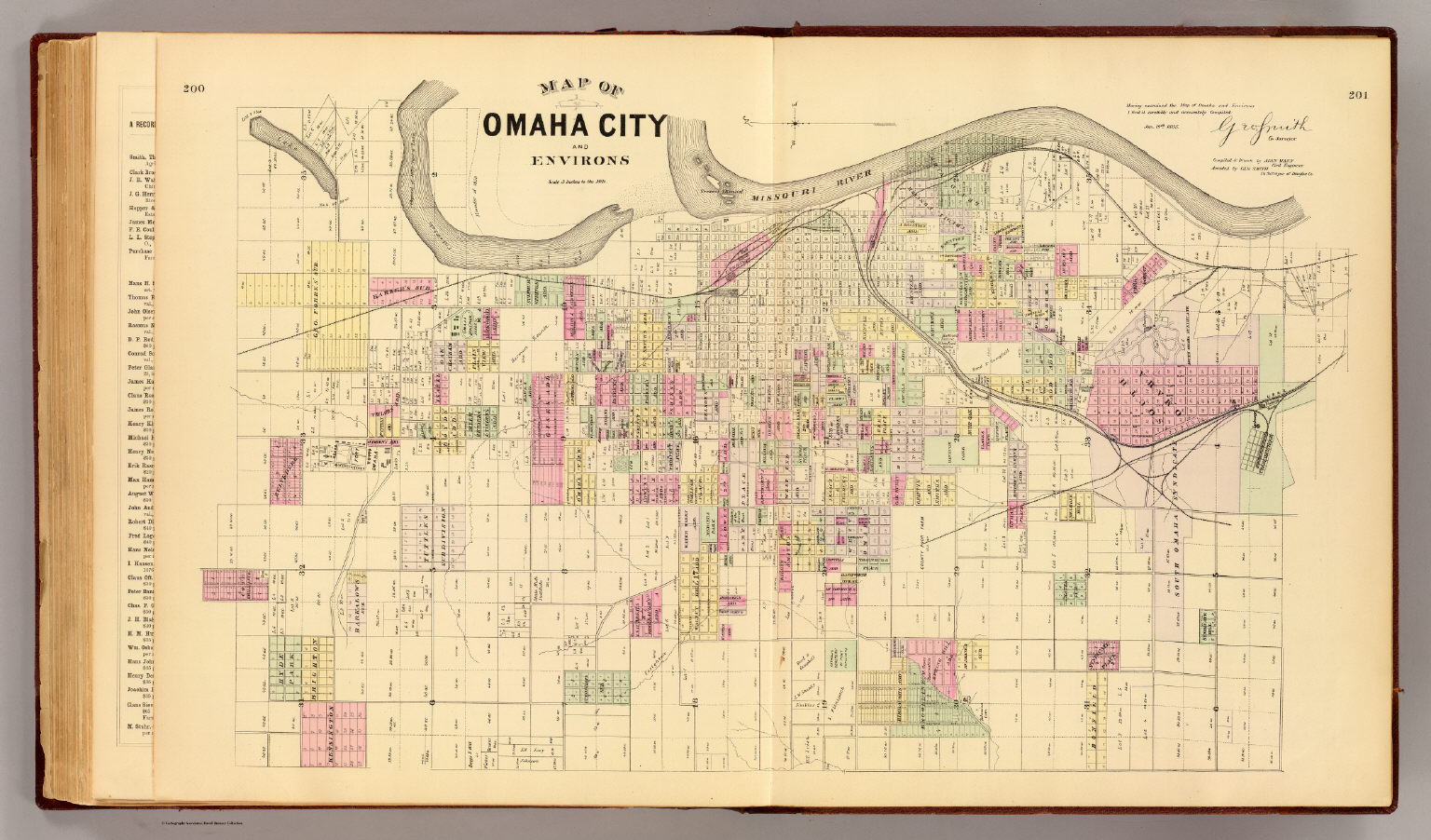 Omaha City Map