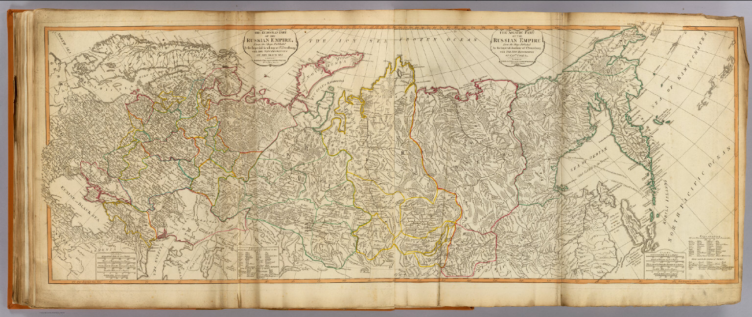 Russian Empire David Rumsey Historical Map Collection - Map in russian