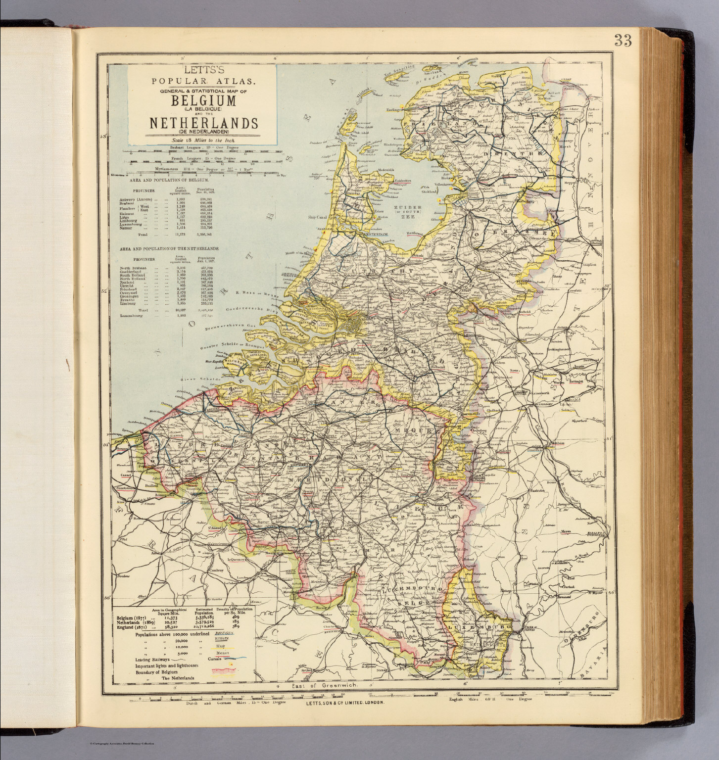 Belgium Netherlands David Rumsey Historical Map Collection