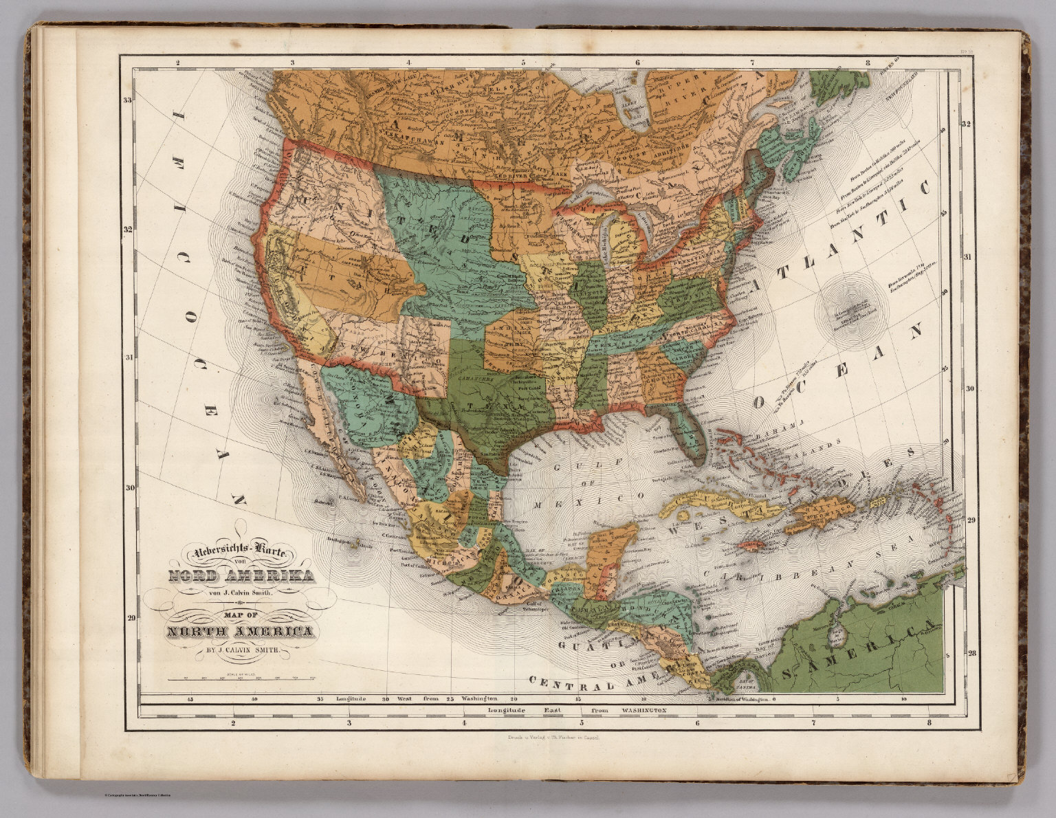 United States Mexico Central America Caribbean  David Rumsey