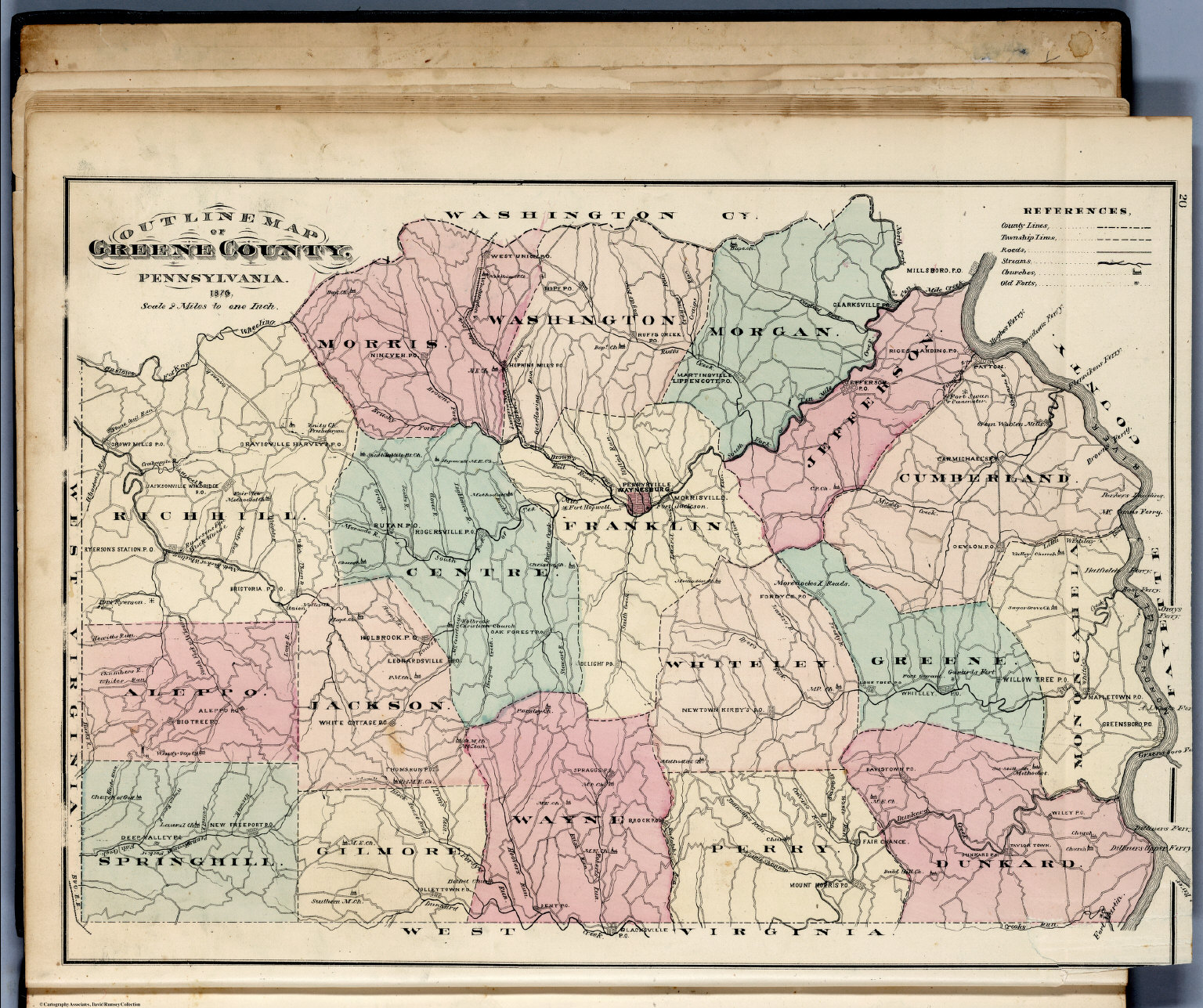 Map Of The United States 1866 Chisholm Book Settingplot
