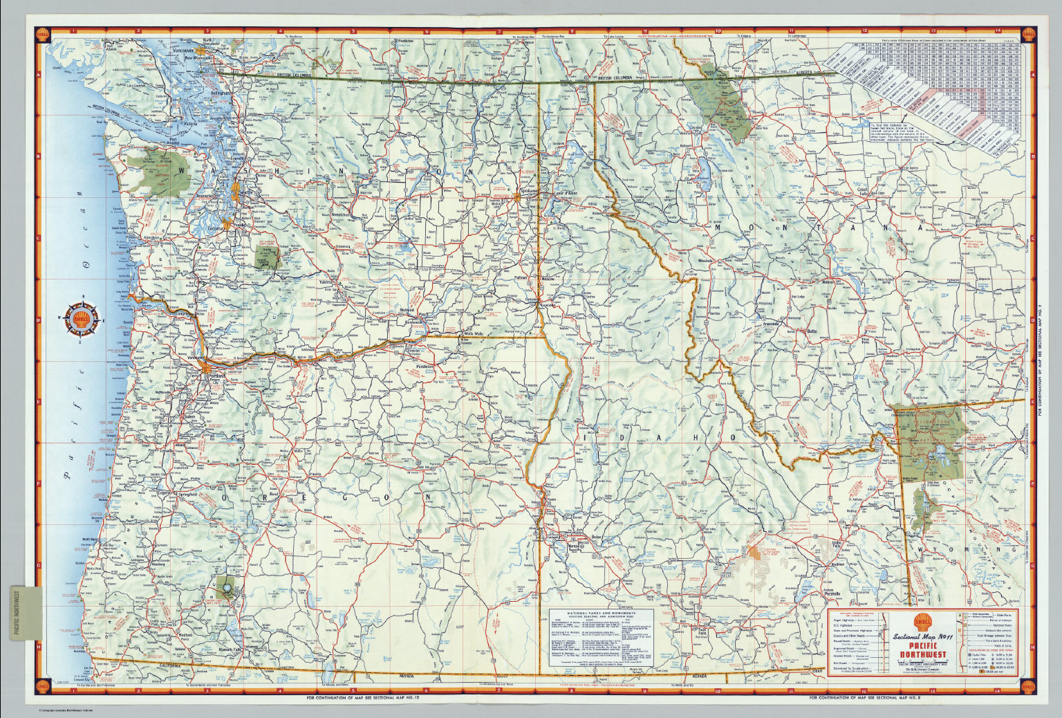 Map Of The Pacific Northwest  Uptowncritters