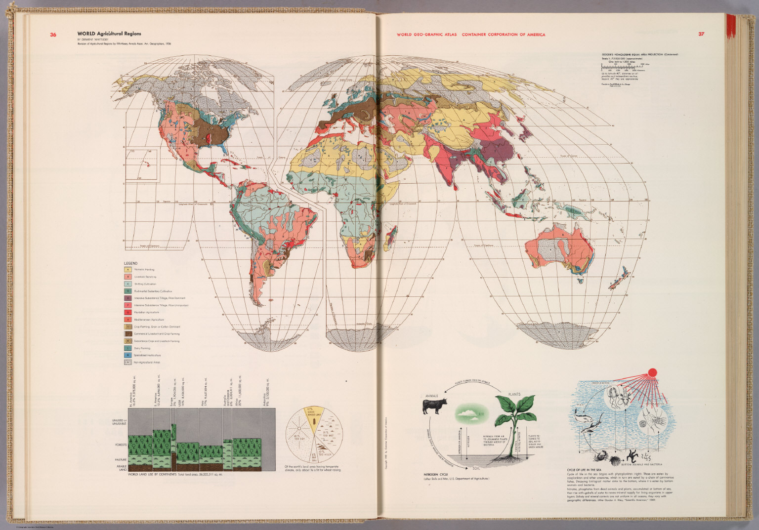 World Agricultural Regions  David Rumsey Historical Map Collection