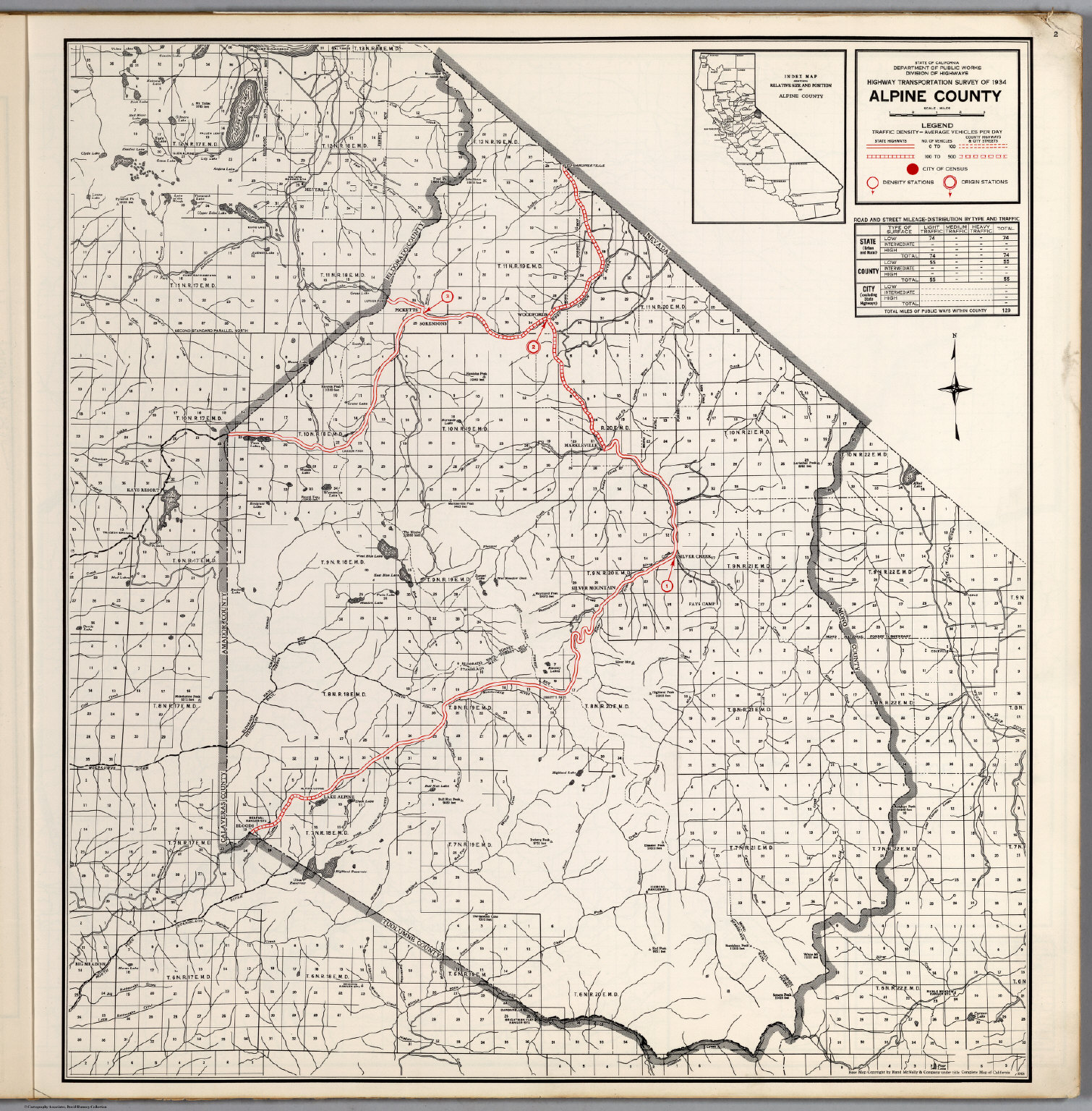 Alpine County David Rumsey Historical Map Collection