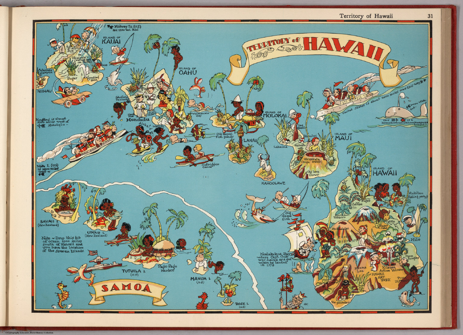 Territory Of Hawaii David Rumsey Historical Map Collection - Hawaii map