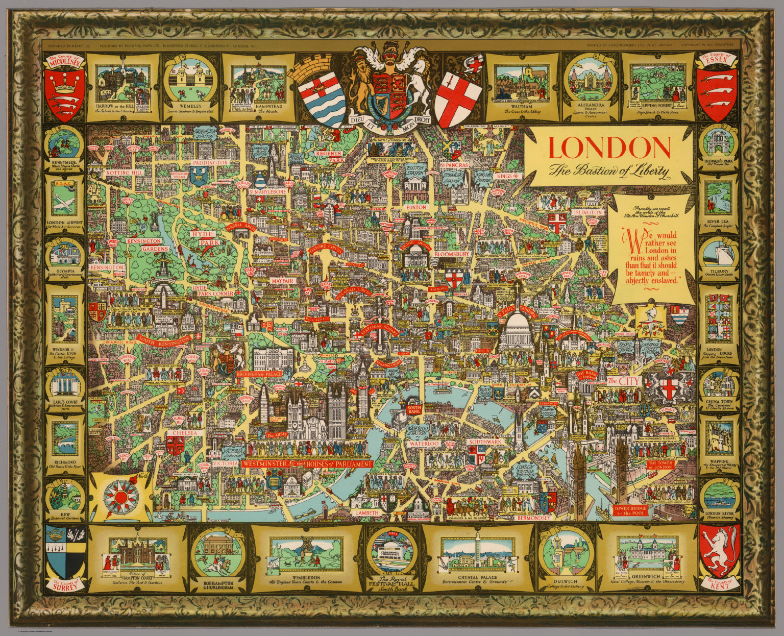 London The Bastion Of Liberty David Rumsey Historical Map - London map historical