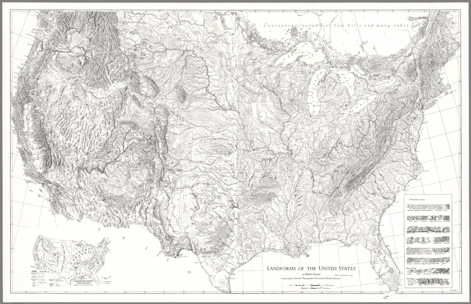 Landforms Of The United States