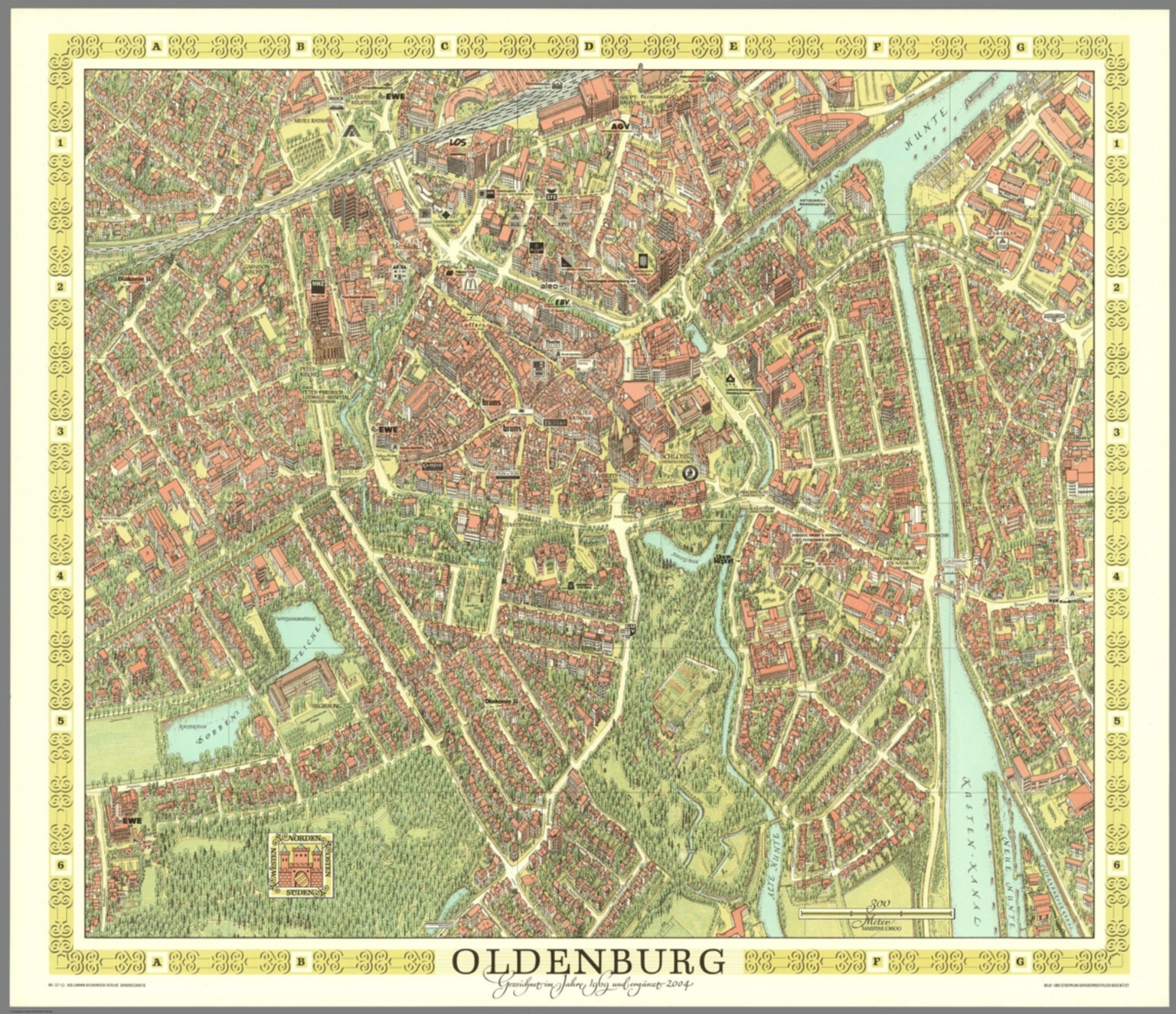 Oldenburg Germany David Rumsey Historical Map Collection - Oldenburg map
